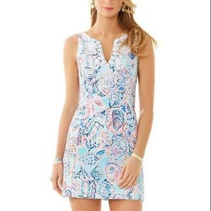 LILLY PULITZER Shell Me About It Gabby Shift 6